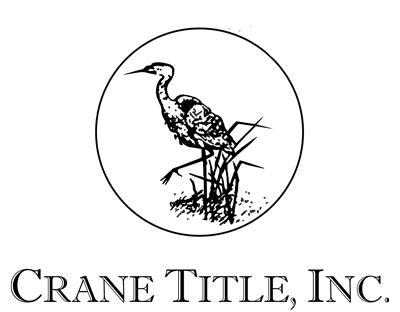 Crane Title Logo
